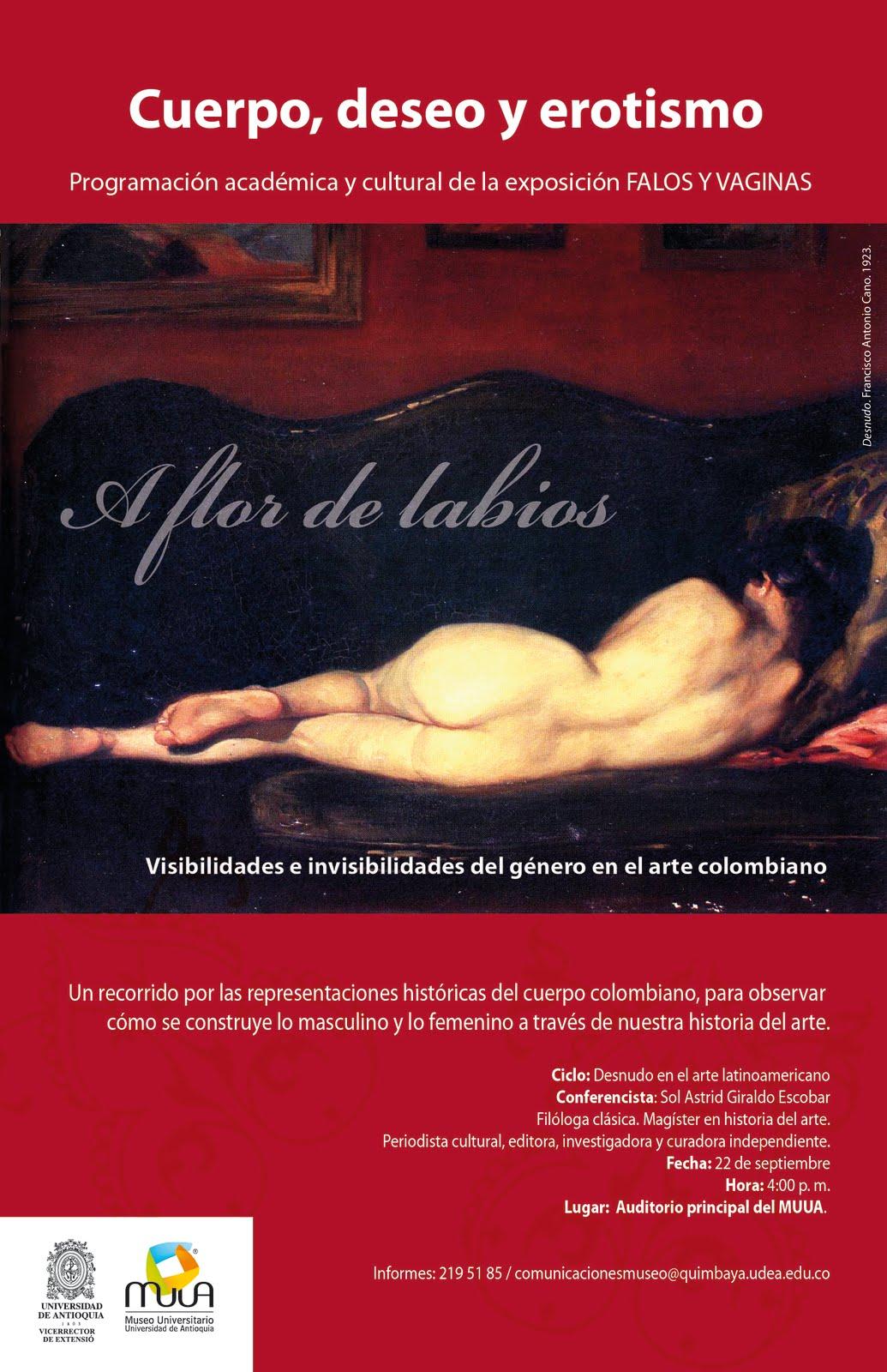 mujer: anatomía comparada (Colombia-México): 09/01/2011 - 10/01/2011