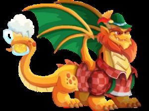 imagen del dragon bavaro