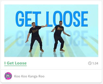 GoNoodle.com, kookoo kangaroo
