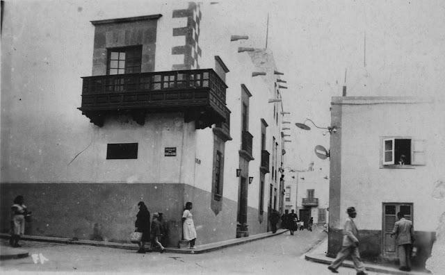 Imagen nº 418 propiedad del archivo de fotografía histórica de la FEDAC/CABILDO DE GRAN CANARIA. Fotografía realizada por D. Mariano Arribas entre 1950 y 1955.