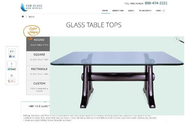 Fab Glass And Mirror Provide Glass Table Tops In Wide Range I.e. Round Glass  Table Tops, Rectangle Glass Table Tops, Square Glass Table Tops And Custom  ...