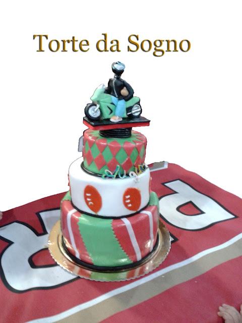 Torte da sogno di romina minniti la torta del rugbysta for Piani da sogno per il garage