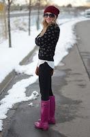 Hunter Boots Violet4