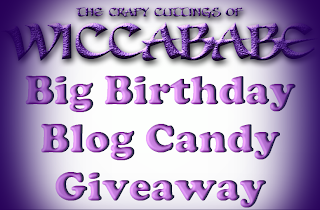 Birthday Blog Candy
