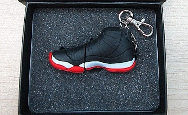 """If you have been looking for a """"cooler"""" place to store your digital wares,  this new Air Jordan 11 """"Playoffs"""" USB Drive just might be what you are  looking ..."""