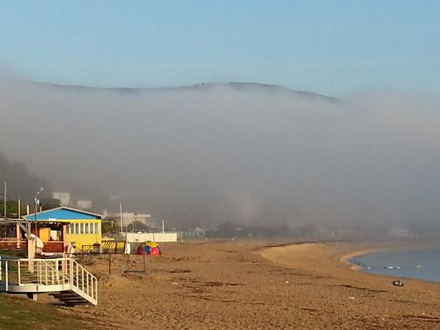foggy day a Numana