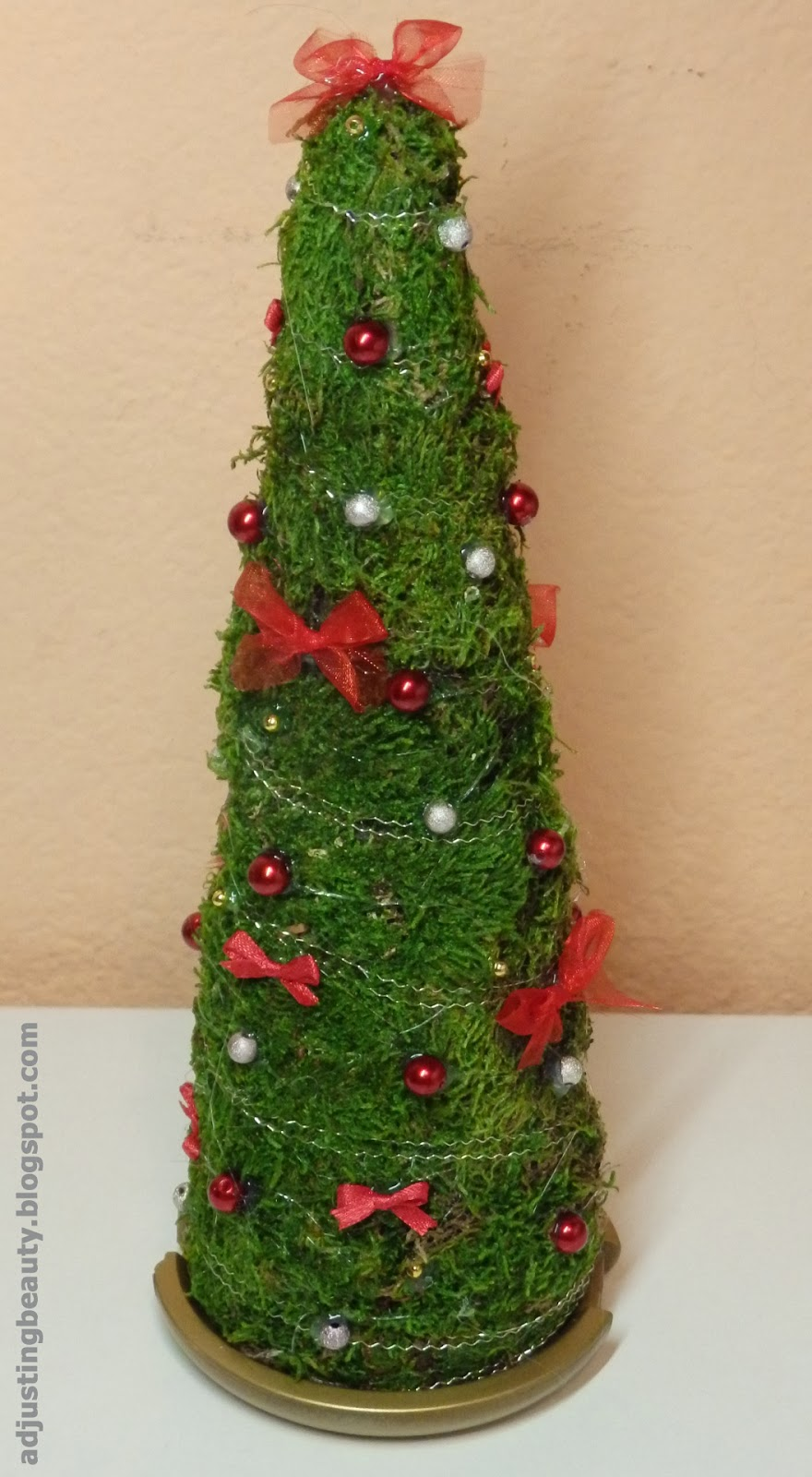 diy foam christmas tree decoration home decor adjusting beauty