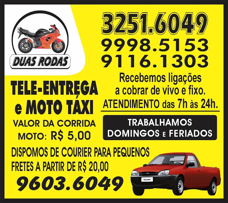 Tele Entrega, moto táxi e fretes!