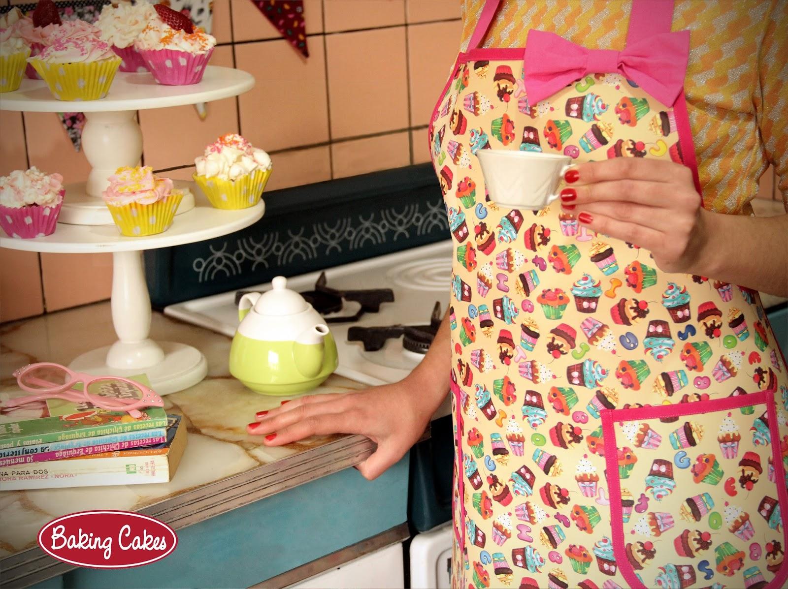 Baking cakes delantales y accesorios de cocina for Sanitarios bellavista modelos antiguos