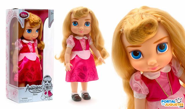 muñeca aurora coleccion disney animators nueva edicion