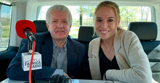CRISTINA LASVIGNES EN 'LA FÁBRICA DE RADIO'