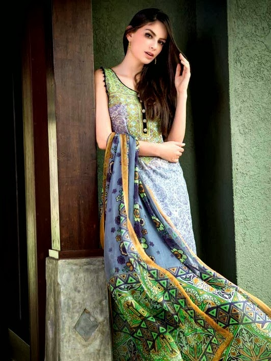 Digital Lawn Prints Collection by Gul Ahmed