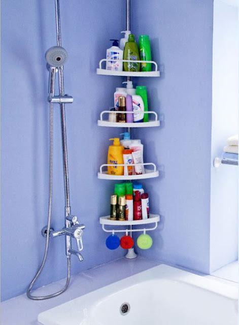 Phòng tắm ngăn nắp