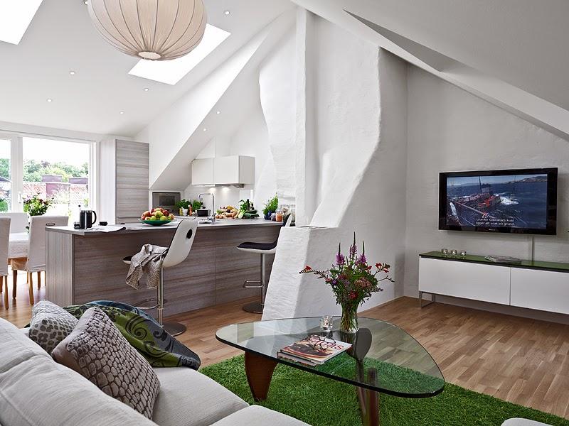 Blog wn trzarski design nowoczesne projekty wn trz jak for 60m2 apartment design