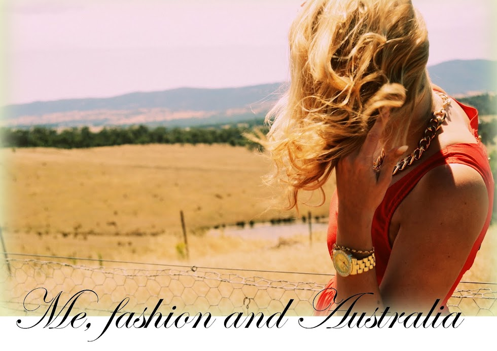 Me, fashion and Australia