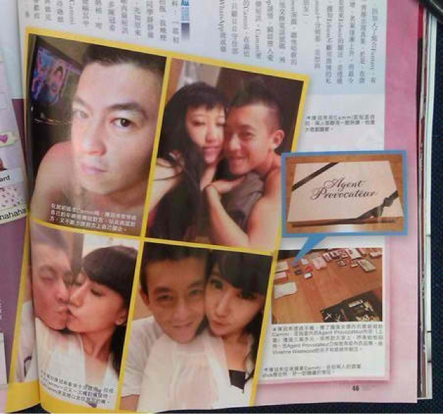 Shaun Owyeong EdisOn: More INTIMATE photos of Edison Chen & Cammi ...