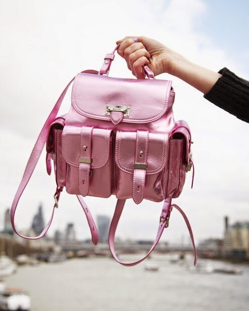 aspinal of london rucksack, aspinal of london bag, aspinal of london mini letterbox rucksack, london