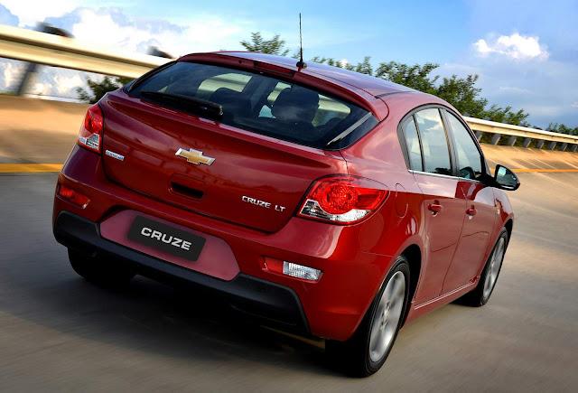 Chevrolet Cruze Sport - traseira