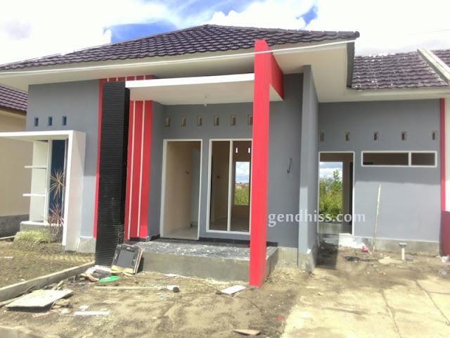 Rumah kami saat masih dalam tahap pembangunan