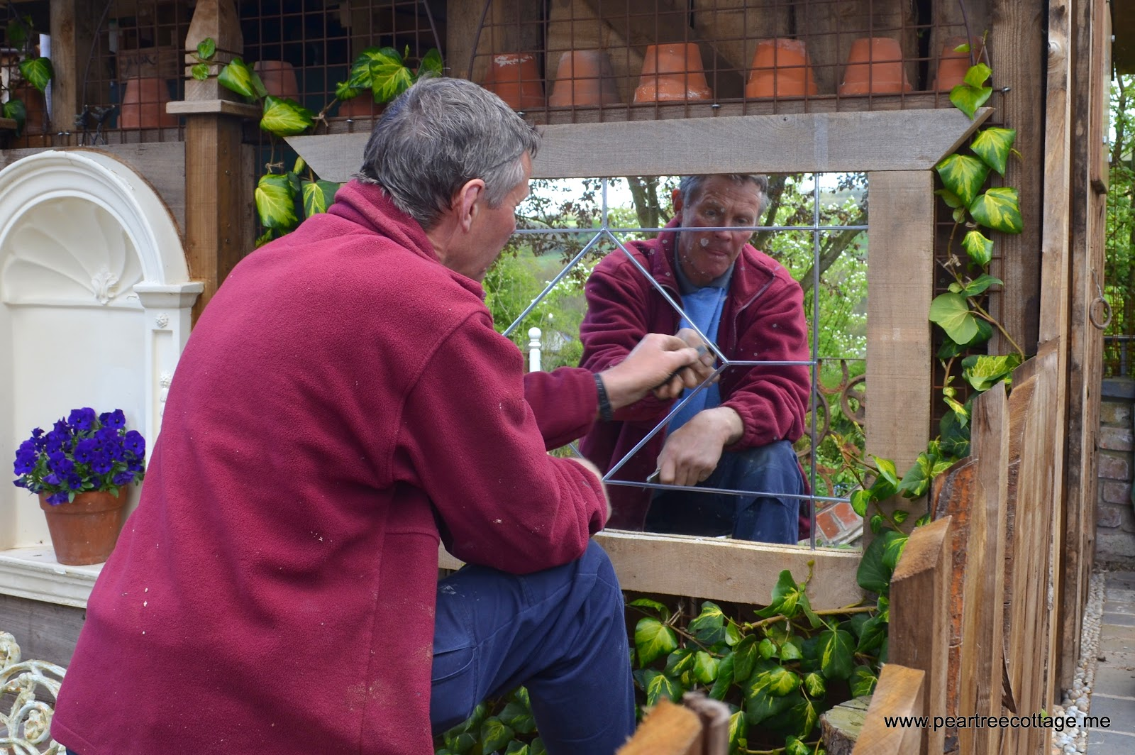 Stunning Pear Tree Cottage May  With Handsome Mirror Mirror On The Wall With Delightful Outdoor Garden Shelter Also Gardening Leave Letter In Addition Caleta Garden Apartments And Ants In The Garden As Well As Museum In Covent Garden Additionally Garden Storage Cabinets From Peartreecottageme With   Handsome Pear Tree Cottage May  With Delightful Mirror Mirror On The Wall And Stunning Outdoor Garden Shelter Also Gardening Leave Letter In Addition Caleta Garden Apartments From Peartreecottageme