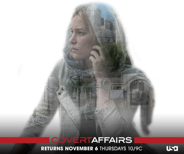 Covert Affairs - Season 5 - New Returning Poster