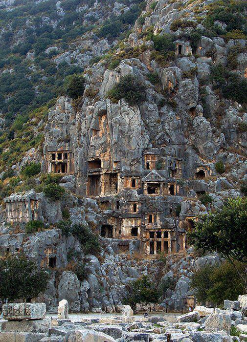 The ancient town of Myra in Turkey