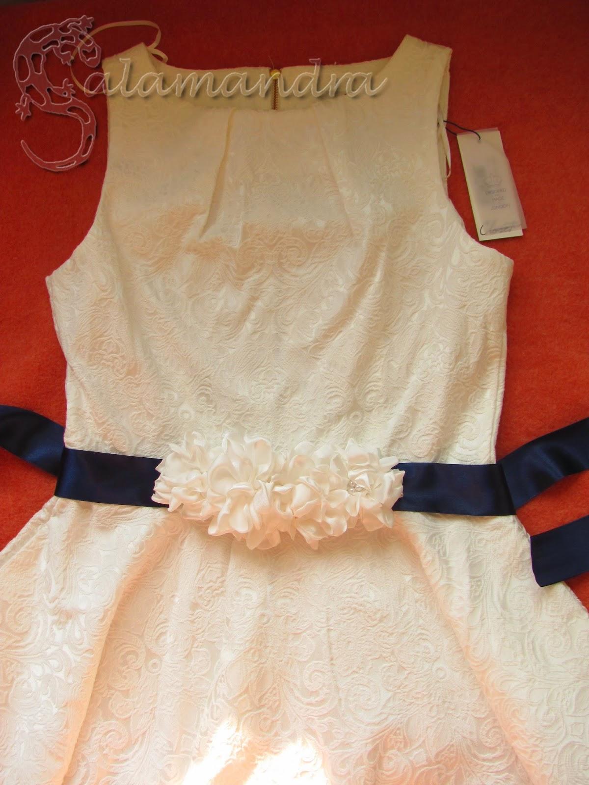 pasek do sukni ślubnej