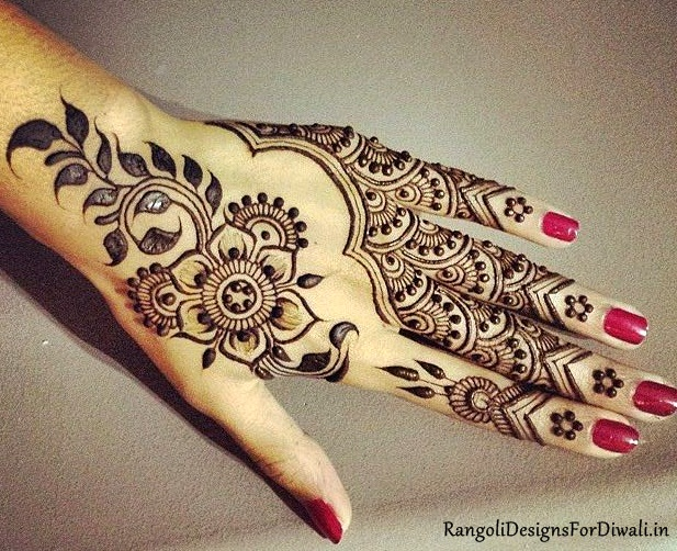 Round Flower Mehndi Designs : Mehndi designs mallinath's new blog on technology