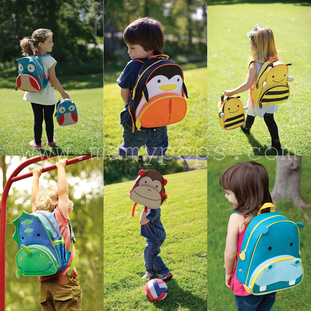mochilas skip hop zoopack animales