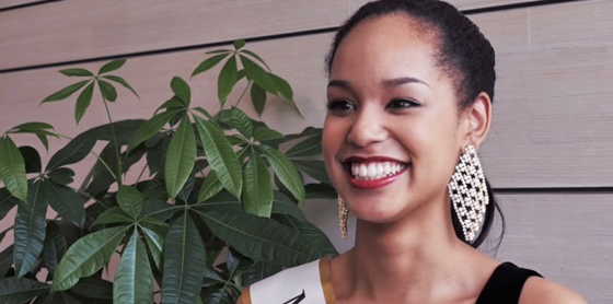 Ariana Miyamoto. (Photo screen captured from YouTube)