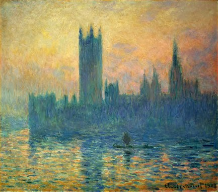 "Picture of ""The Houses of Parliament, sunset"" by Claude Monet, 1903"