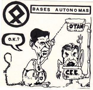 Las bases contra la Otan