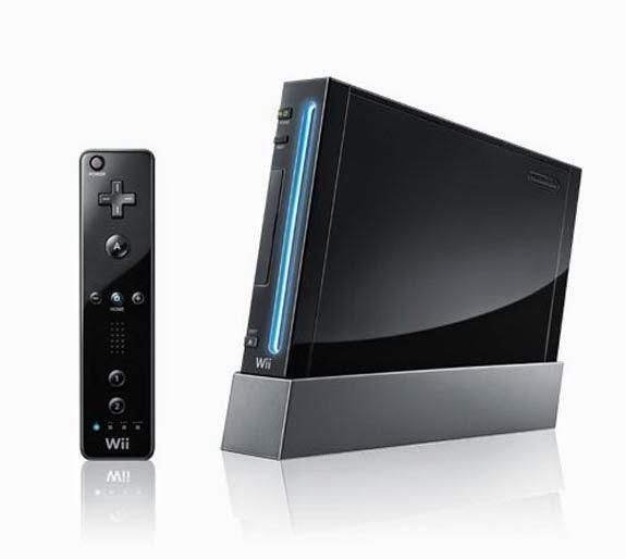 Nintendo's black Wii unit