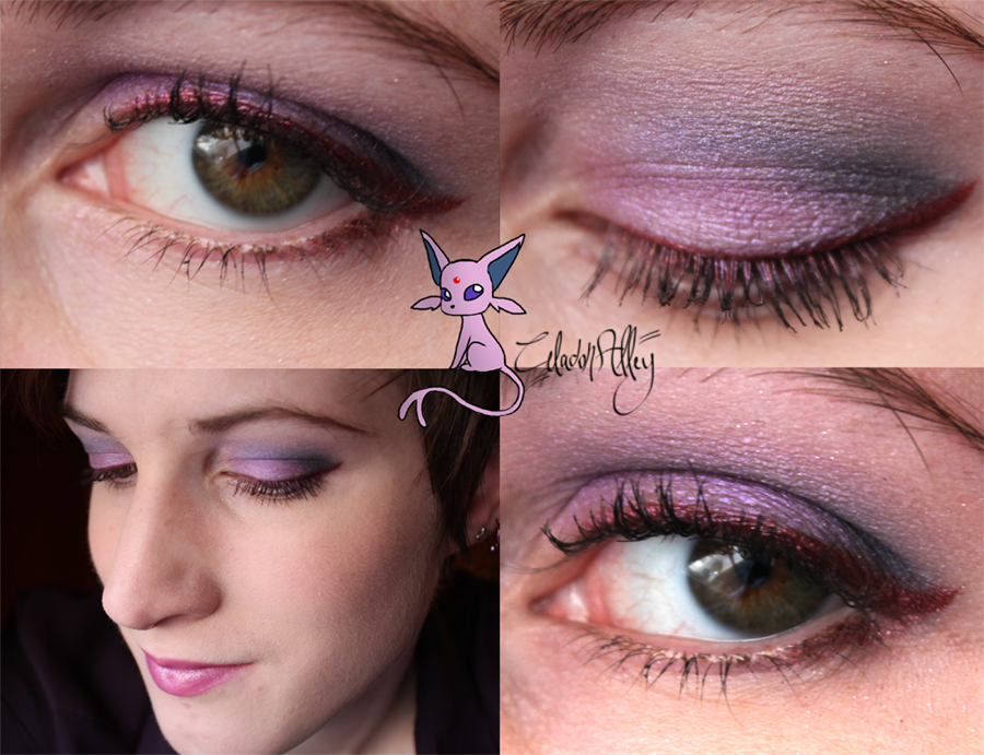 Espeon Eye Makeup