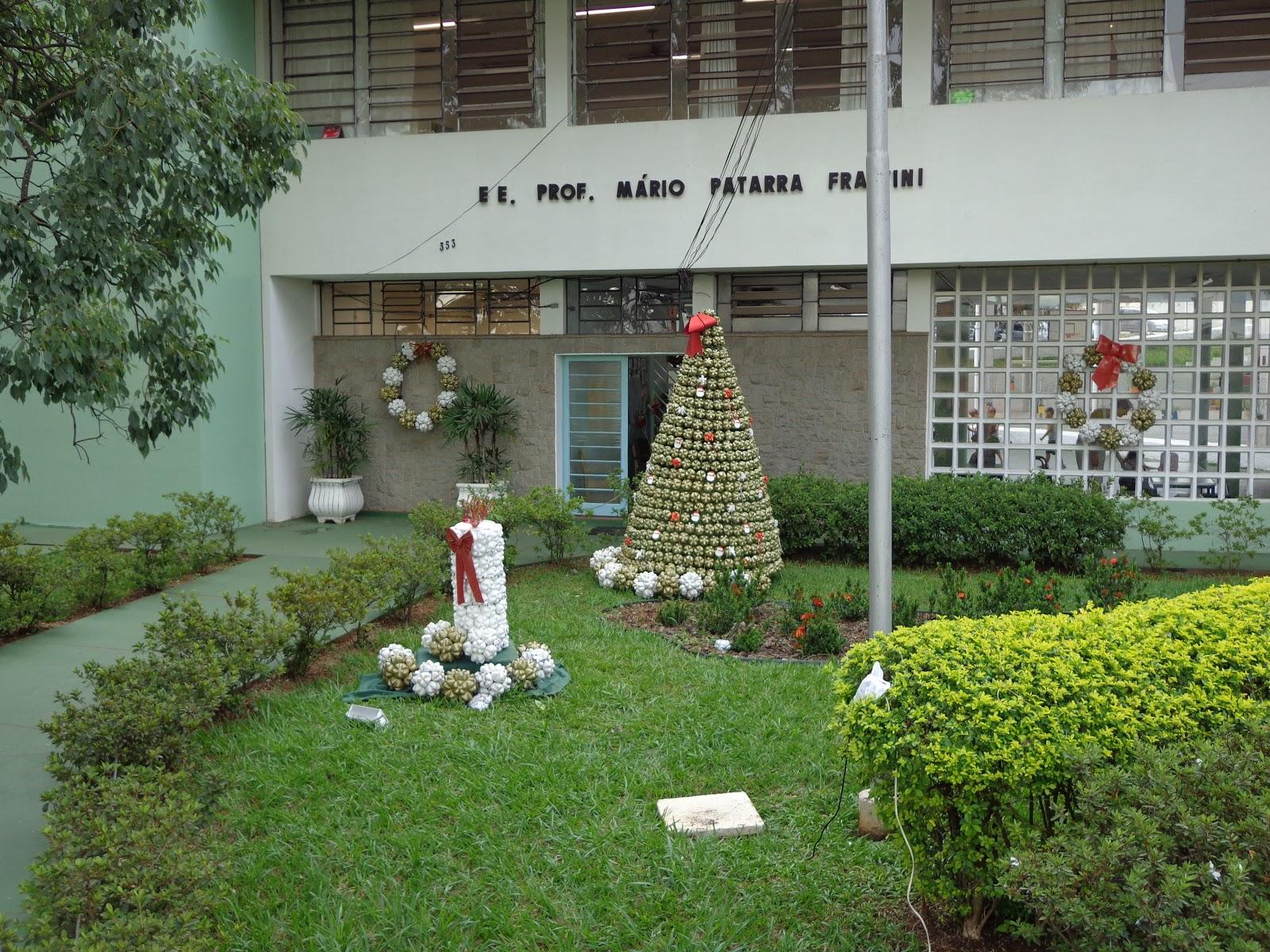 Escola Patarra DECORA u00c7ÃO DE NATAL -> Decoração De Natal Simples Escola
