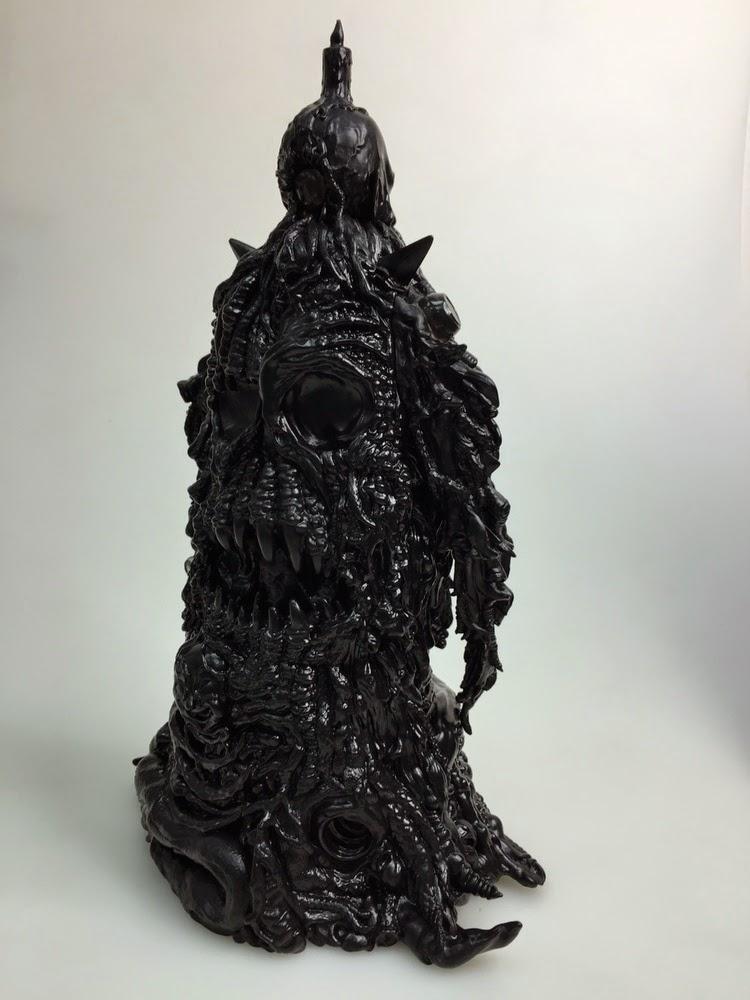 Blank Black Lolgolth Gnazgoroth Vinyl Figure by Skinner