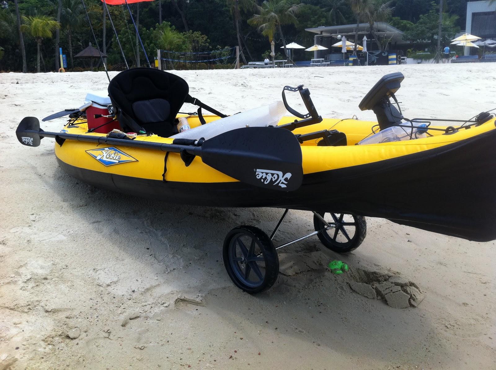 Hobie inflatables diy images kayak fishing singapore for Hobie fishing kayak
