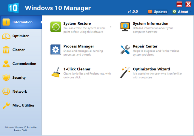 pc software free  full version for windows-7-manager
