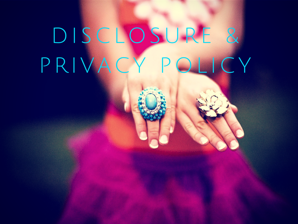 Disclosure/Privacy Policy
