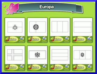 Jesucristo Aparecido Clula Europa Coloreamos las banderas de Europa