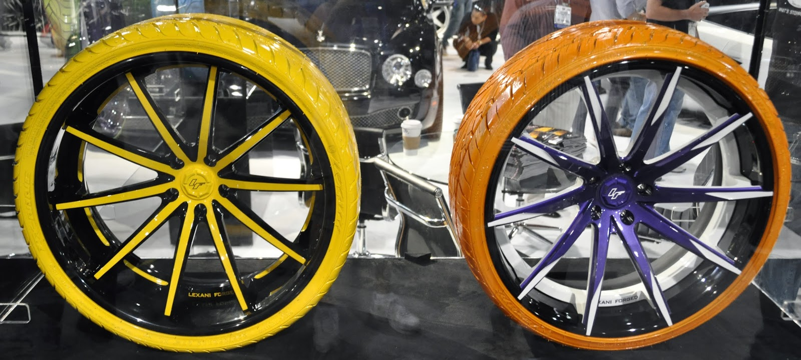 Oddball Colored Tires And Rims