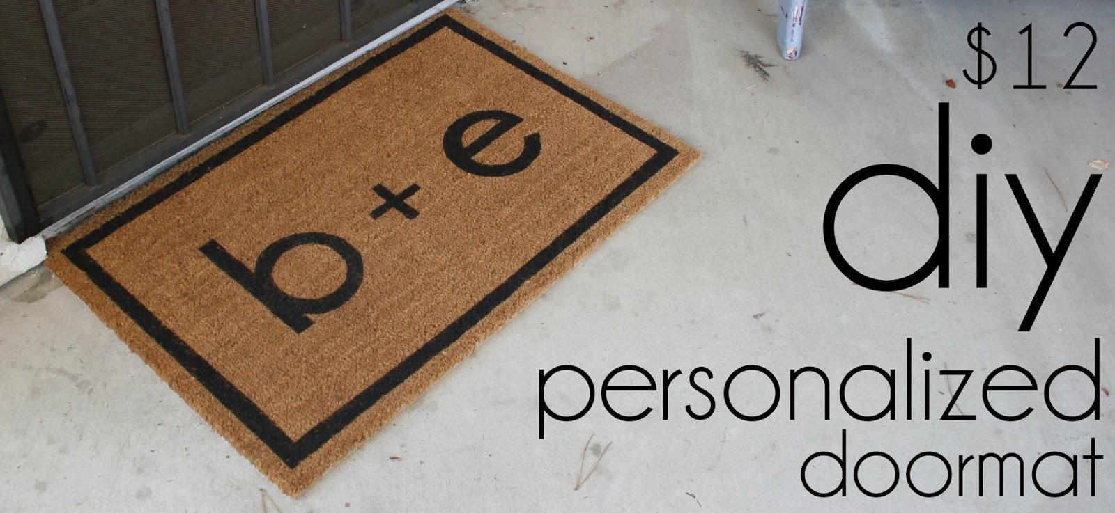 searched design personalized for doormat you etsy webbo doormats mat door