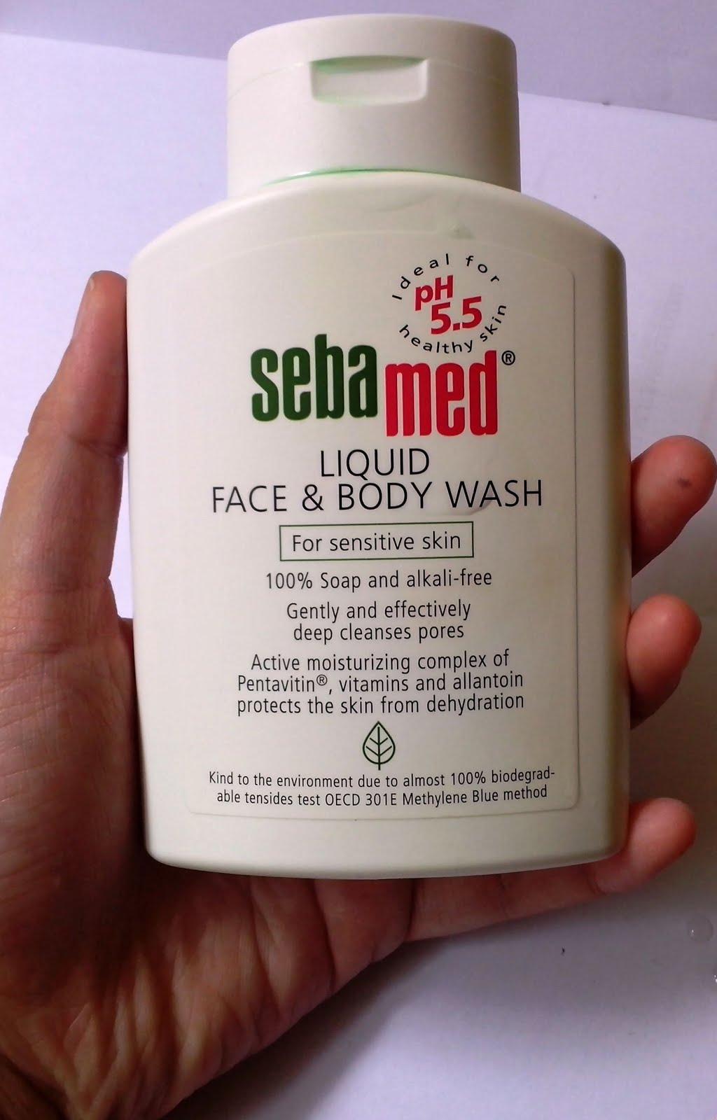 Make Up Skin Care And Love Review Sebamed Liquid Face Body Wash 200 Ml Tampak Depan
