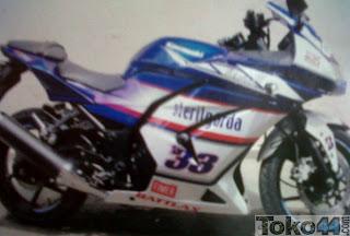 desain stiker motor kawasaki ninja 250 desain stiker motor satria fu