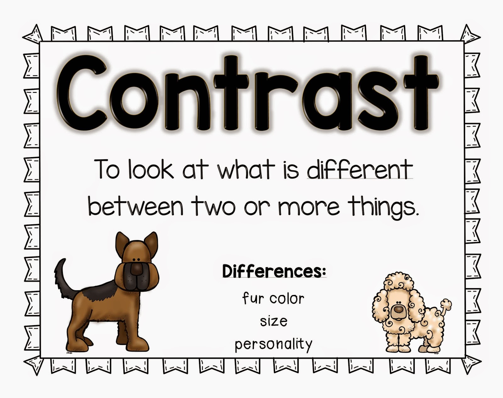http://www.teacherspayteachers.com/Product/Compare-and-Contrast-1564745