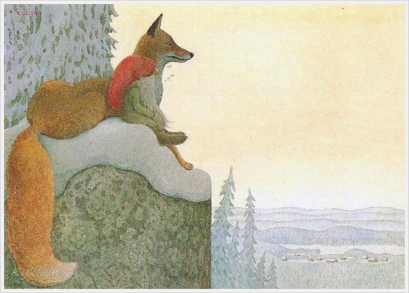 My Paisley World Winter Elves Of Lennart Helje