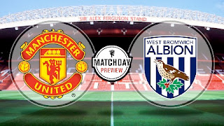 Susunan Pemain Manchester United vs West Brom Albion