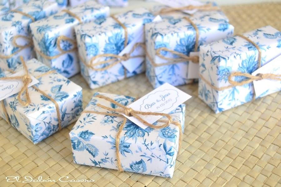 bodas en azul jabones hechos a mano