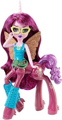 TOYS : JUGUETES - Monster High : Fright-Mares  Penepole Steamtail | Centauro | Muñeca - doll Producto Oficial 2015 | Mattel DGD15 | A partir de 6 años comprar en Amazon España & buy Amazon USA