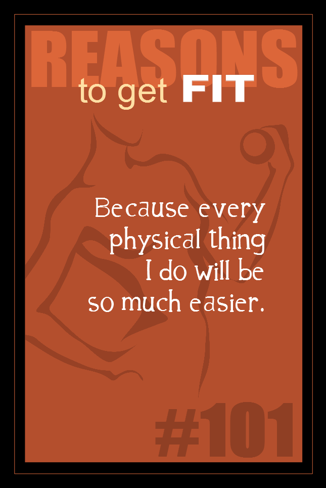 365 Reasons to Get Fit #101